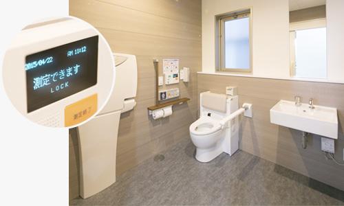 TOTO尿流量測定装置